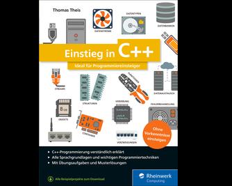 Cover von Einstieg in C++