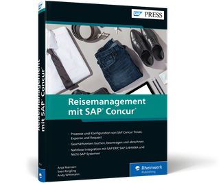 Cover von Reisemanagement mit SAP Concur
