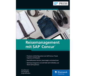 Cover von Concur – Reisemanagement mit SAP