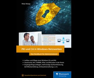 Cover von PKI und CA in Windows-Netzwerken