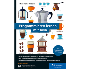 Cover von Programmieren lernen mit Java