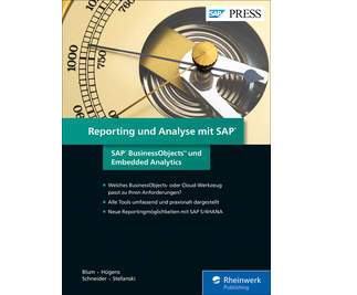 Cover von Reporting und Analyse mit SAP