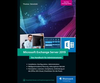 Cover von Microsoft Exchange Server 2019
