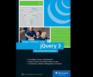 Cover von jQuery 3