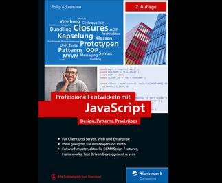 Cover von Professionell entwickeln mit JavaScript
