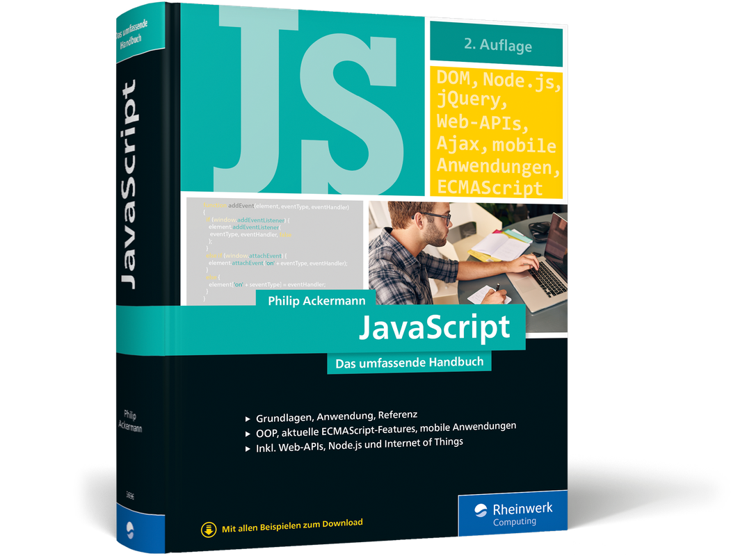 JavaScript - Das umfassende Handbuch