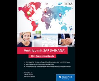 Cover von Vertrieb mit SAP S/4HANA