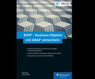 Cover von BOPF – Business-Objekte mit ABAP entwickeln