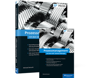 Cover von Prozessmanagement mit dem SAP Solution Manager