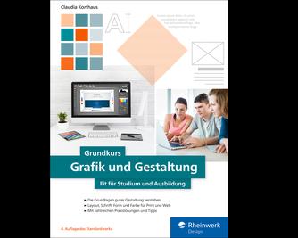 Cover von Grundkurs Grafik und Gestaltung