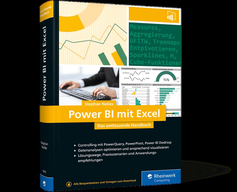 Power BI mit Excel - Das umfende Handbuch on