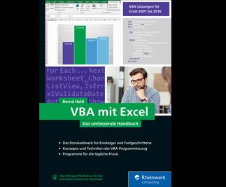 Cover von VBA mit Excel