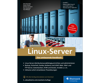Cover von Linux-Server