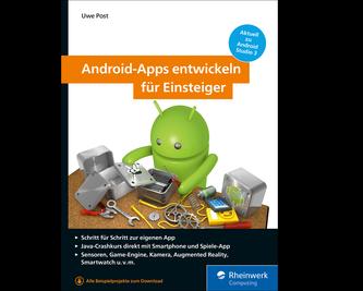 Cover von Android-Apps entwickeln für Einsteiger