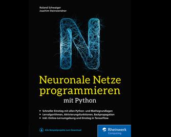 Cover von Neuronale Netze programmieren mit Python
