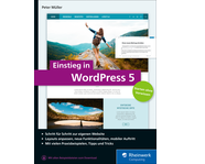 Cover von Einstieg in WordPress 5