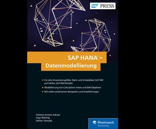 Cover von SAP HANA – Datenmodellierung