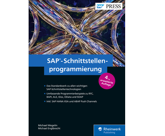 Cover von SAP-Schnittstellenprogrammierung