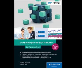 Cover von Erweiterungen für SAP S/4HANA