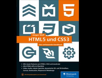 Cover von HTML5 und CSS3