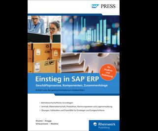 Cover von Einstieg in SAP ERP