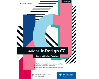Cover von InDesign CC