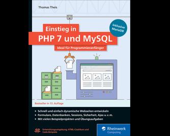 Cover von Einstieg in PHP 7 und MySQL