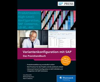 Cover von Variantenkonfiguration mit SAP