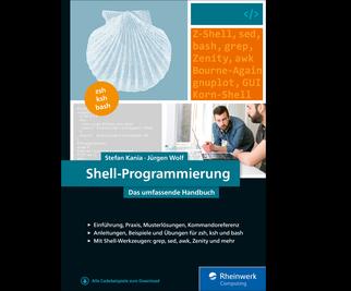 Cover von Shell-Programmierung