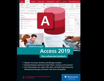 Cover von Access 2019