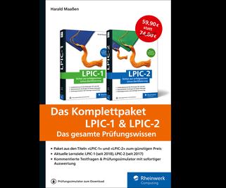 Cover von Das Komplettpaket LPIC-1 & LPIC-2