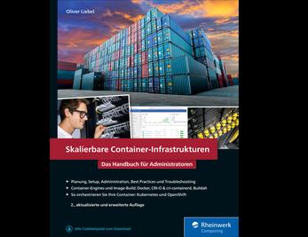 Cover von Skalierbare Container-Infrastrukturen