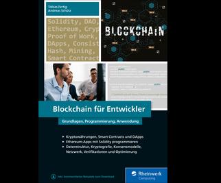 Cover von Blockchain für Entwickler