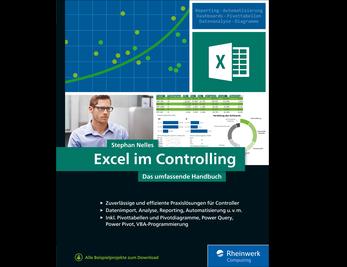 Cover von Excel im Controlling