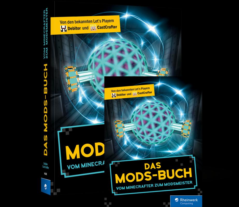 Das Mods Buch alles über Minecraft Mods von Debitor und CastCrafter