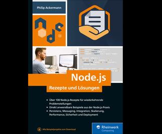 Cover von Node.js – Rezepte und Lösungen