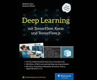 Cover von Deep Learning mit TensorFlow, Keras und TensorFlow.js