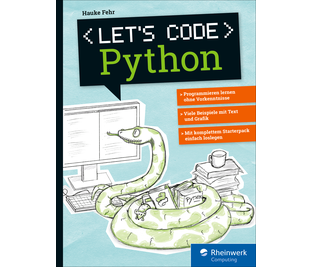 Cover von Let's code Python