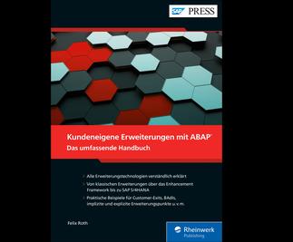 Cover von Kundeneigene Erweiterungen mit ABAP