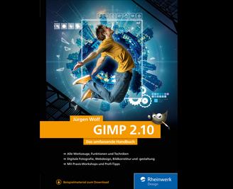 Cover von GIMP 2.10
