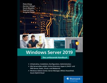 Cover von Windows Server 2019
