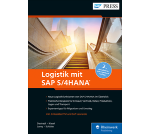 Cover von Logistik mit SAP S/4HANA