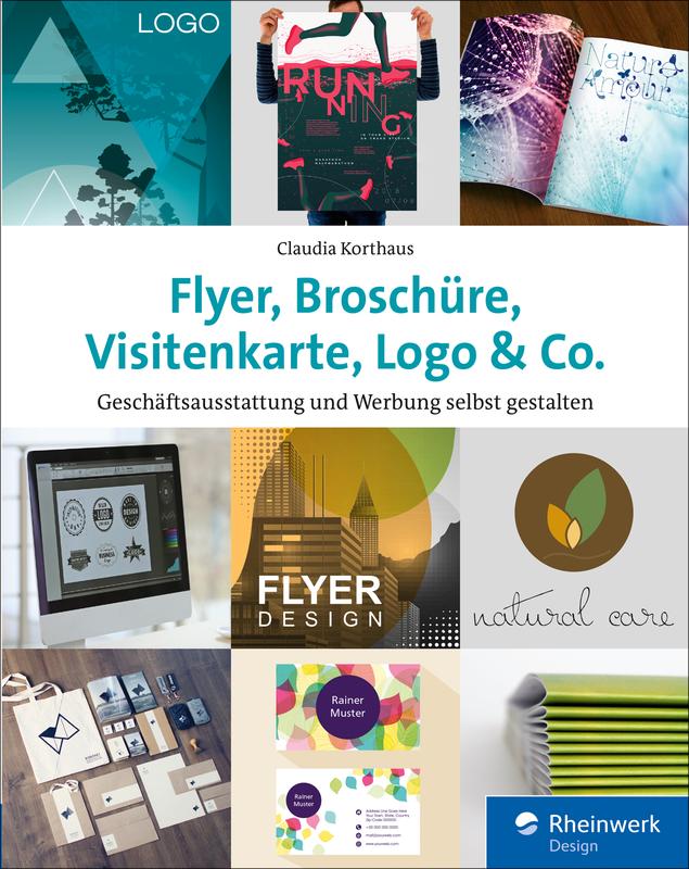 Flyer Broschüre Visitenkarte Logo Co Geschäftsausstattung Und Werbung Selbst Gestalten