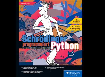 Cover von Schrödinger programmiert Python
