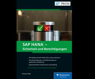 Cover von SAP HANA – Sicherheit und Berechtigungen