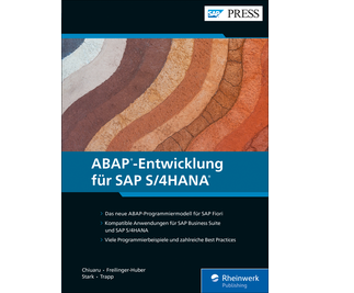 Cover von ABAP-Entwicklung für SAP S/4HANA