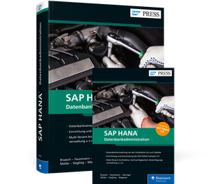 Cover von SAP HANA – Datenbankadministration