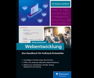Cover von Webentwicklung