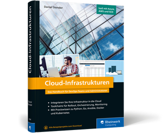 Cover von Cloud-Infrastrukturen