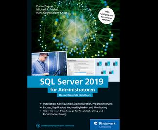 Cover von SQL Server 2019 für Administratoren